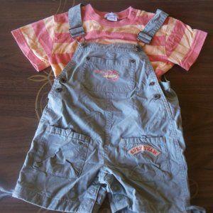 2 Piece Set (Shortalls and Shirt) Boy 30 months